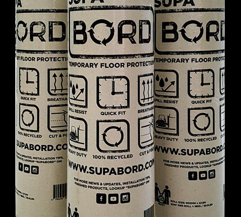 SupaBord Temporary Floor Protection