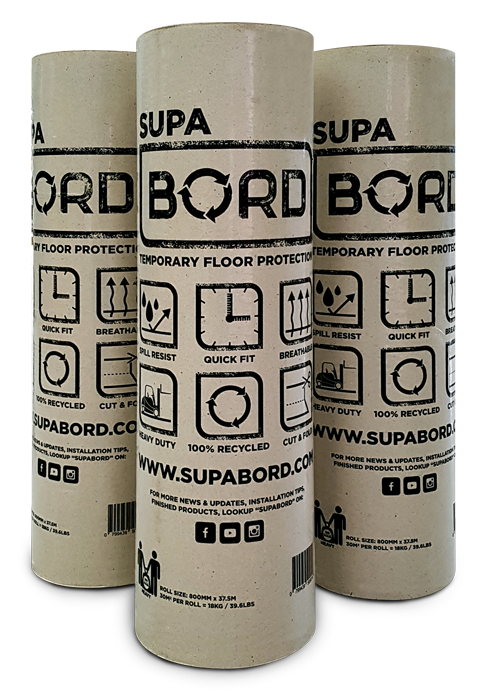 SupaBord's Premium Floor Protection - Heavy Duty